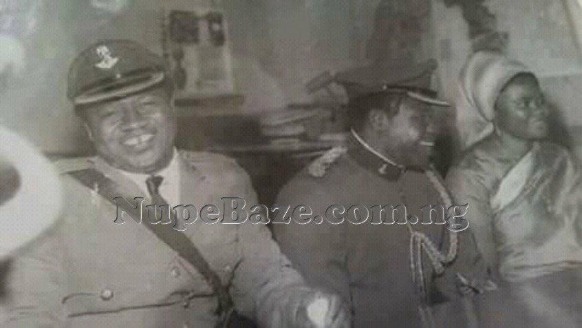 General Ibrahim Badamasi Babangida And Genaral Vatsa With His Wife Sufiya