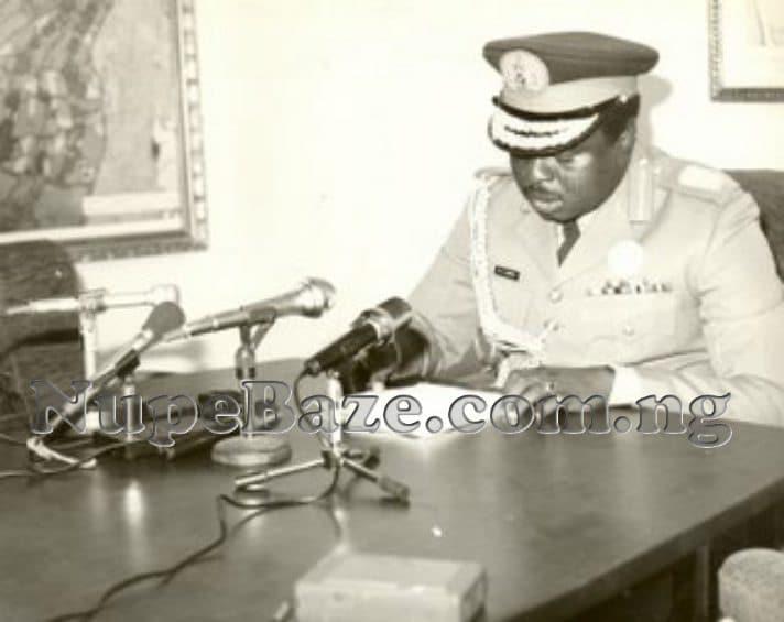 General Mamman Jiya Vatsa In Office
