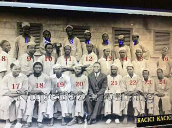 Nigerian Former Leaders In School At Bida Niger State